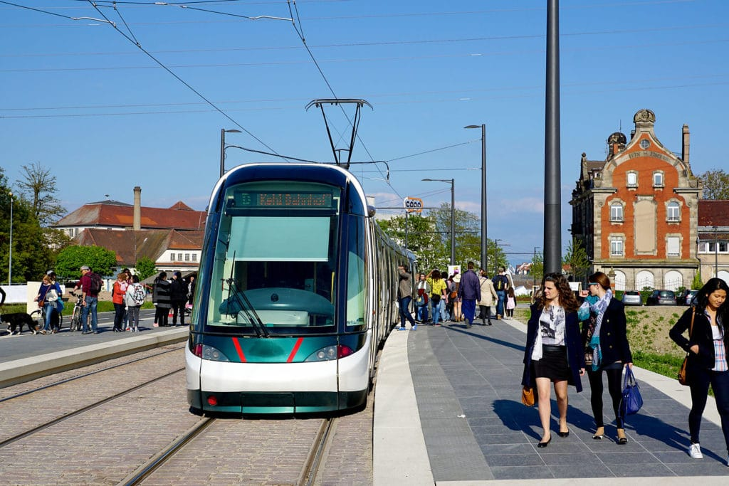 Tram Strasbourg Kehl