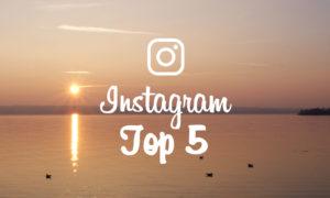 Mon Top 5 Instagram d'Août