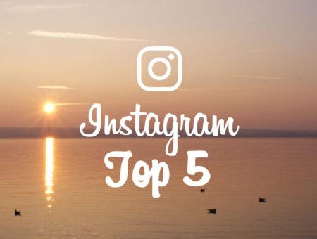 Mon top 5 Instagram de Mars