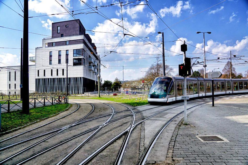 Tram au Neudorf, Strasbourg