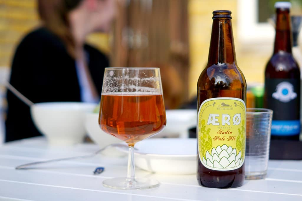 Bière danoise d'Æro