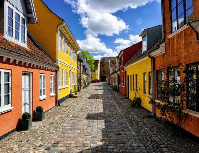 Vieille ville d'Odense