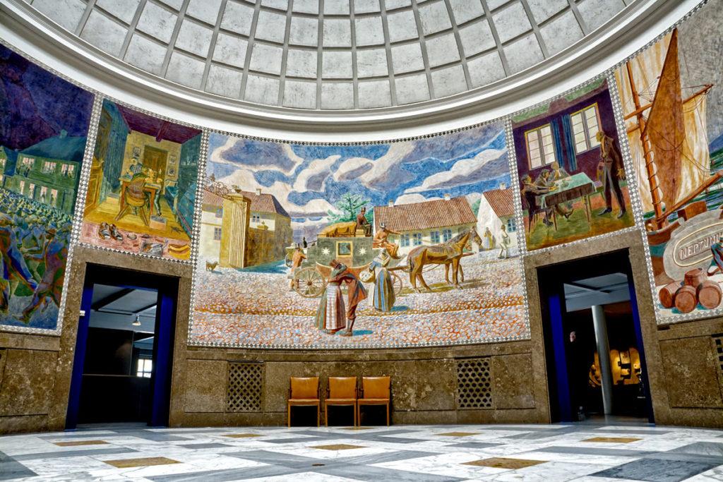 Fresque Musée Andersen Odense