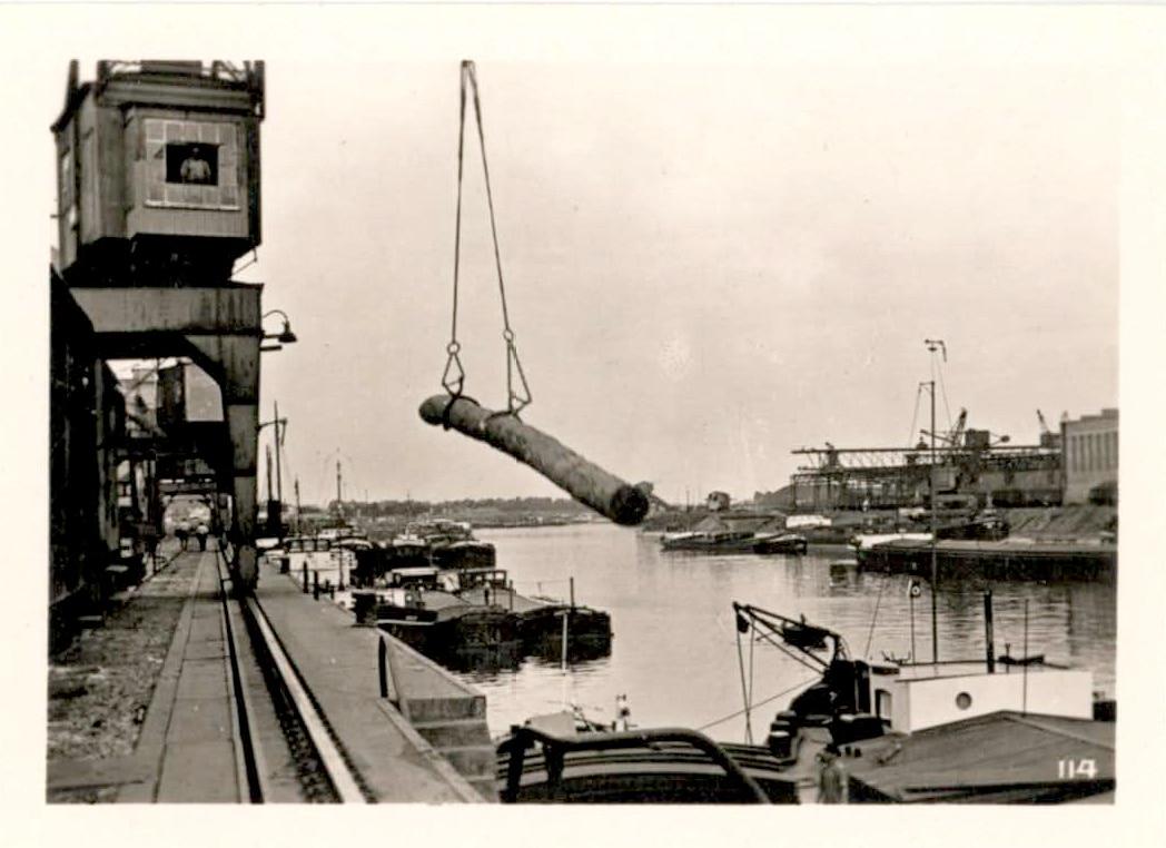 Le Porte de Strasbourg - Bassin du commerce dans les années 1950