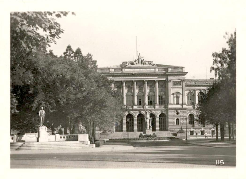 Le palais universitaire de Strasbourg dans les années 1950