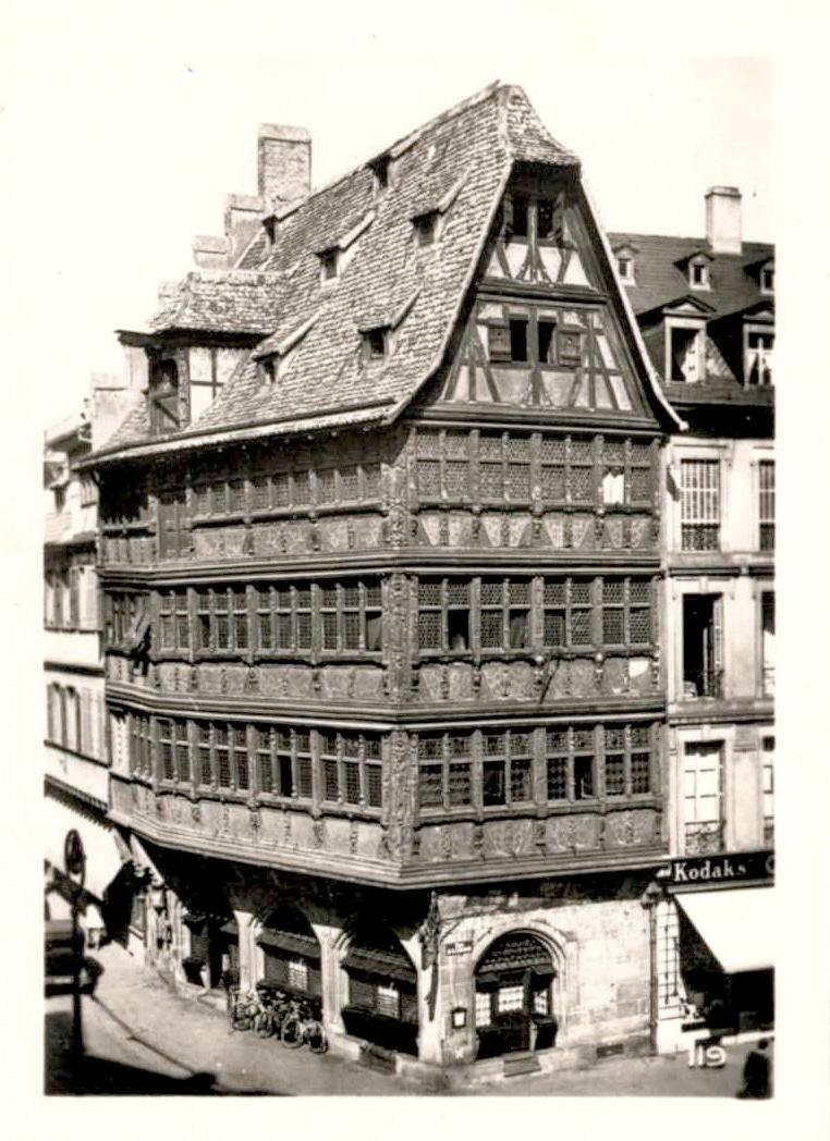 La Maison Kammerzell dans les années 1950
