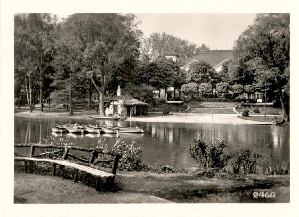 L'Orangerie dans les années 1950