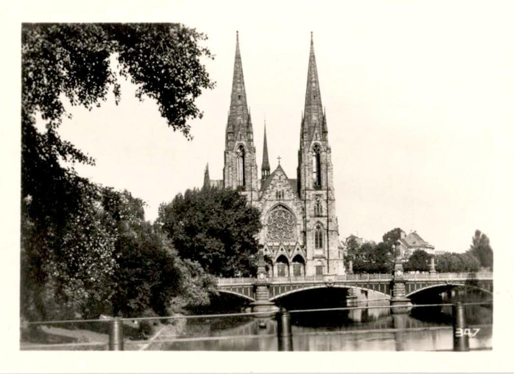 L'église Saint Paul dans les années 1950