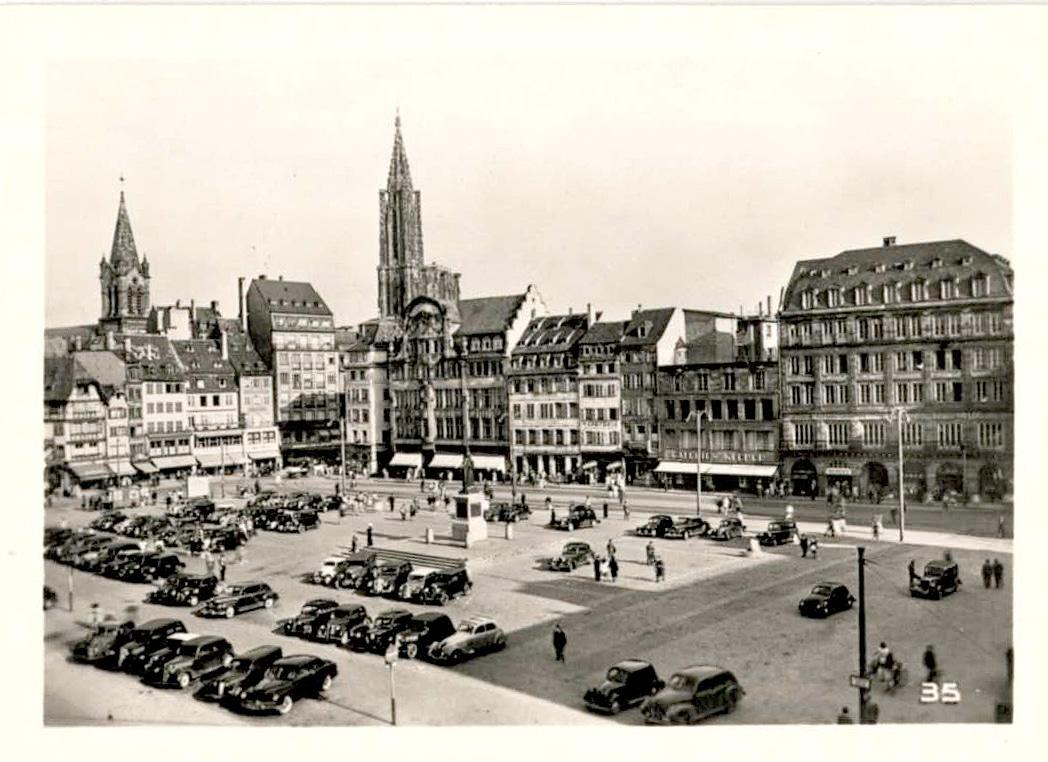La Place Kléber dans les années 1950