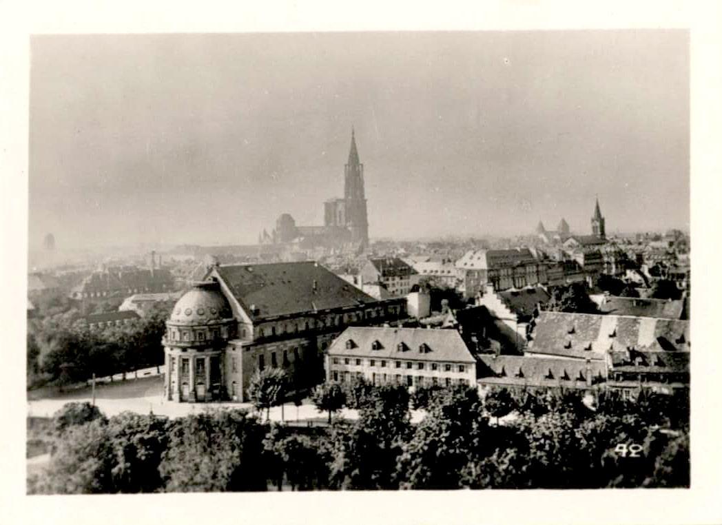 Strasbourg dans les années 1950