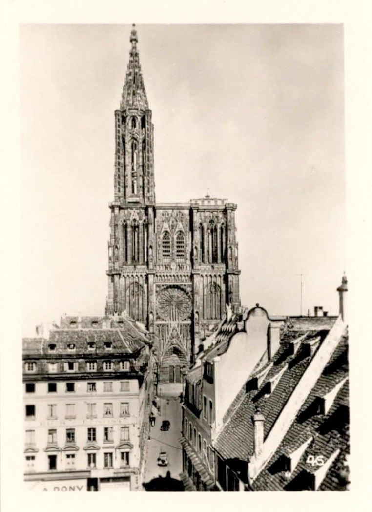 La Cathédrale dans les années 1950
