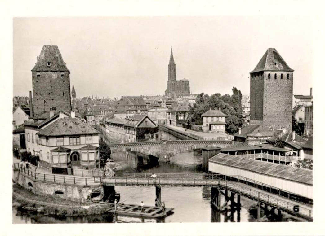 Les Ponts Couverts dans les années 1950