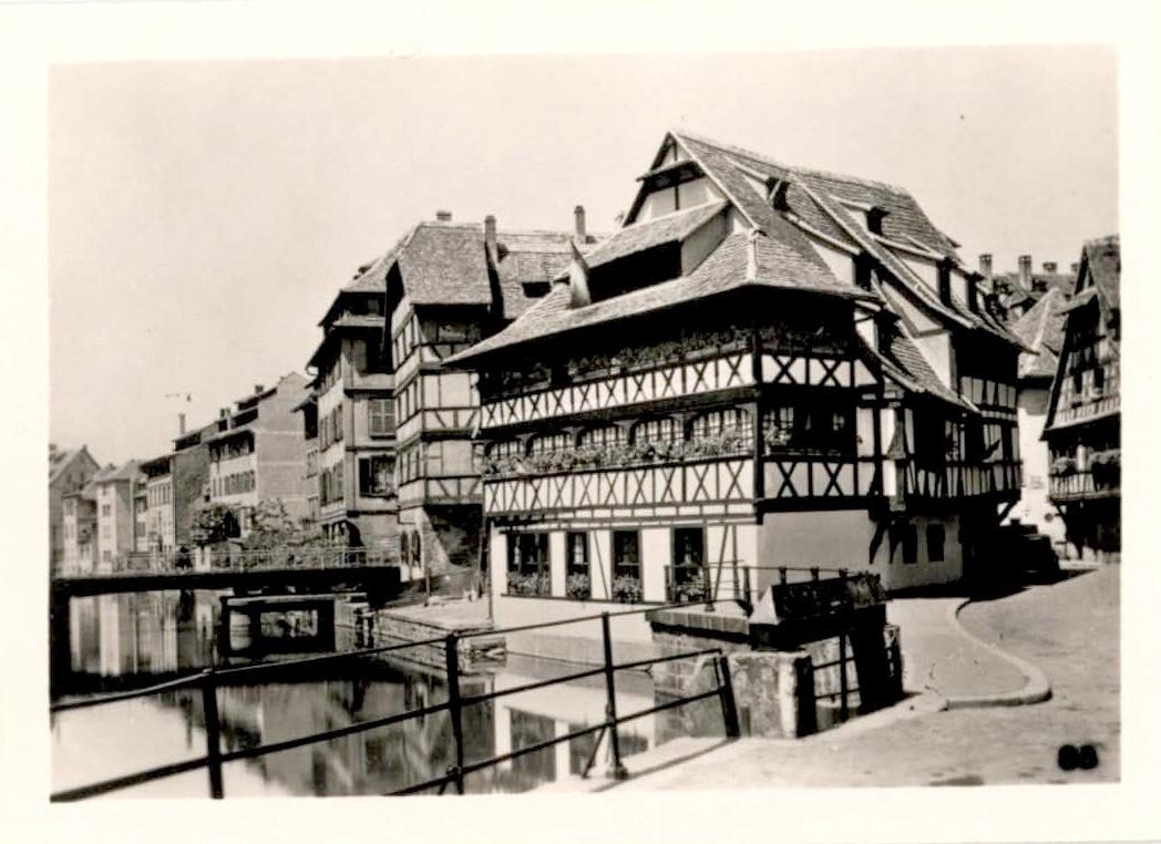 La maison des tanneurs dans les années 1950