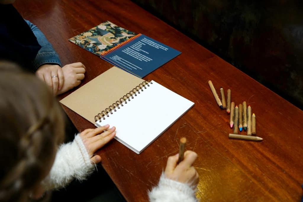 Activité pour enfants au Victoria and Albert Museum