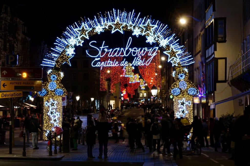 Illuminations de Noël à Strasbourg