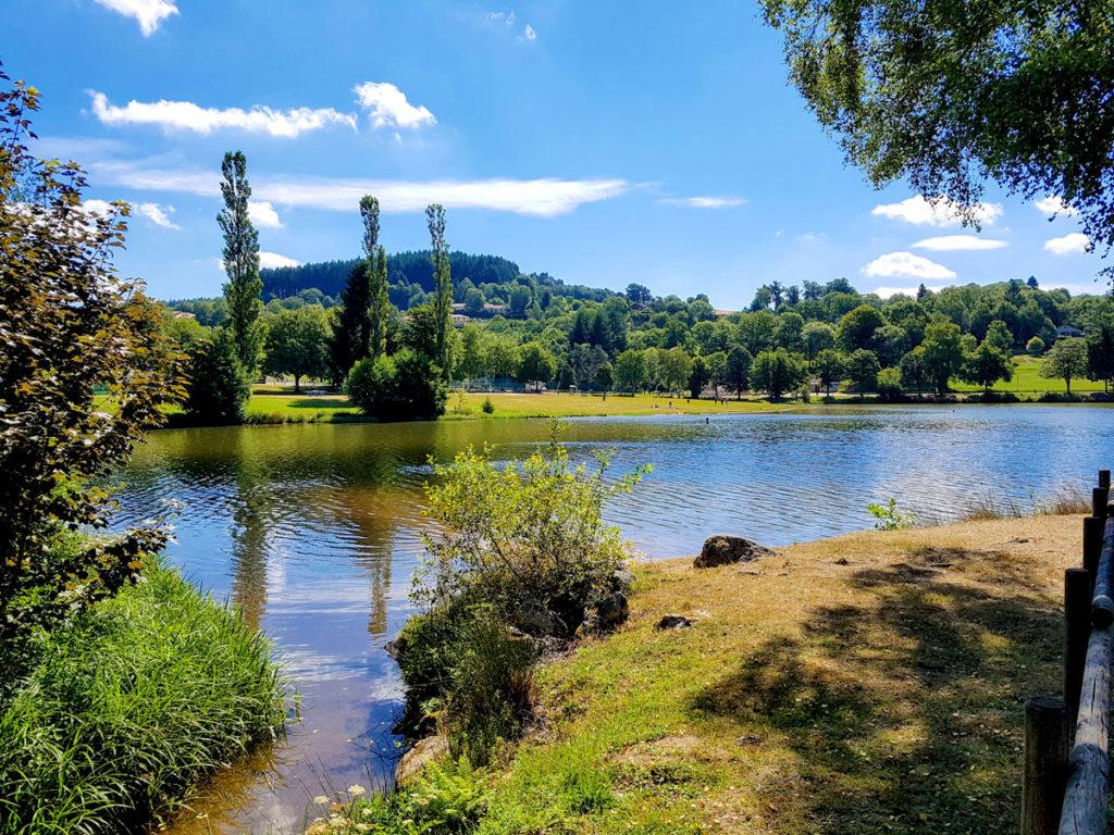 Lac de Saint Rémy sur Durolle