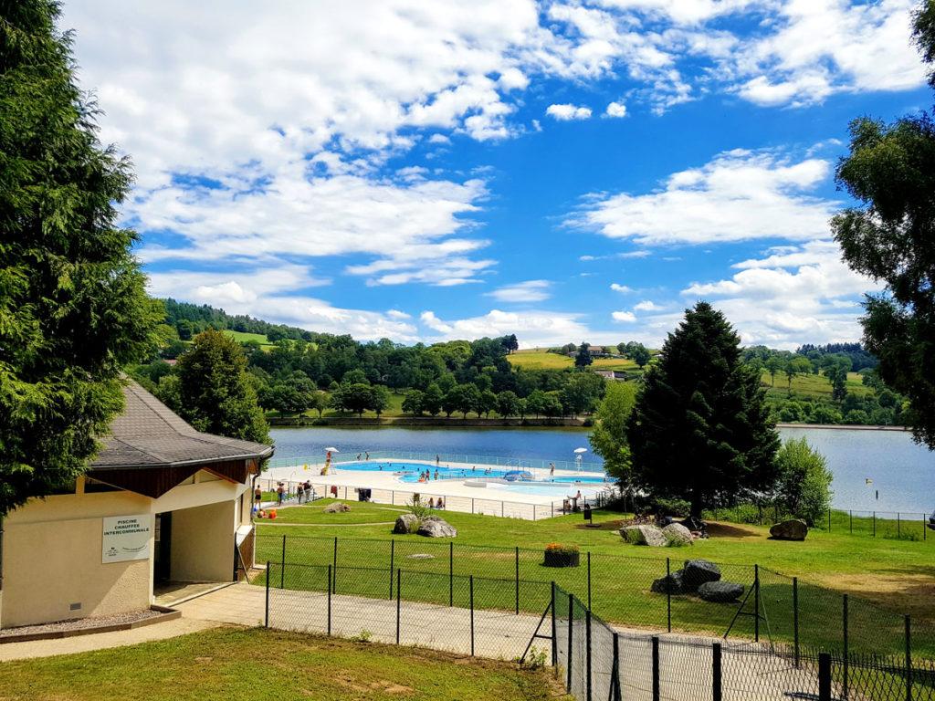 Piscine et Lac de Saint Rémy sur Durolle