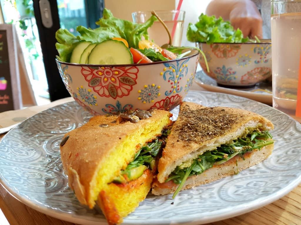 Sandwich sans gluten à Strasbourg