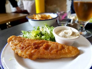 Fish and chips - La Petite Cantoche