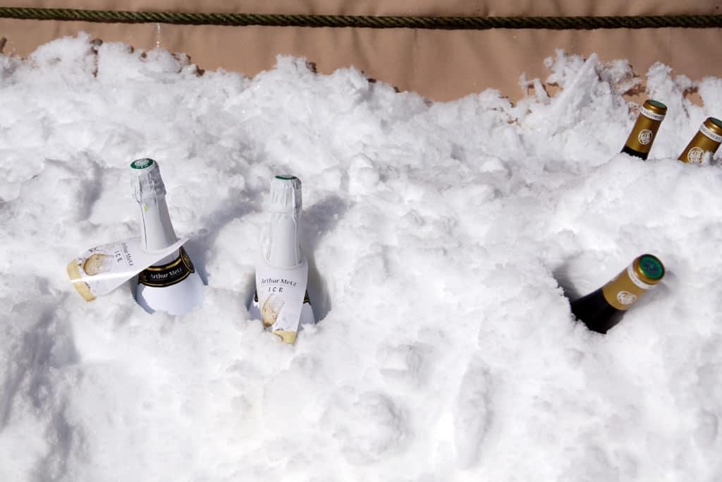 Crémant Ice Arthur Metz et Pinot Noir Cave Dagobert