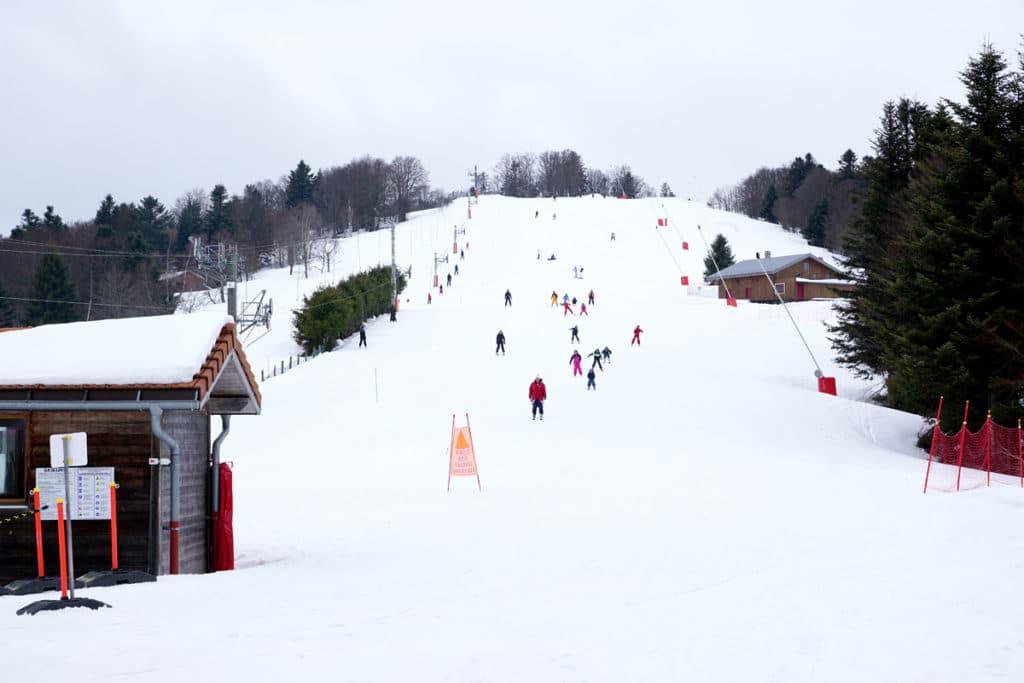 Piste de ski du petit Langenberg