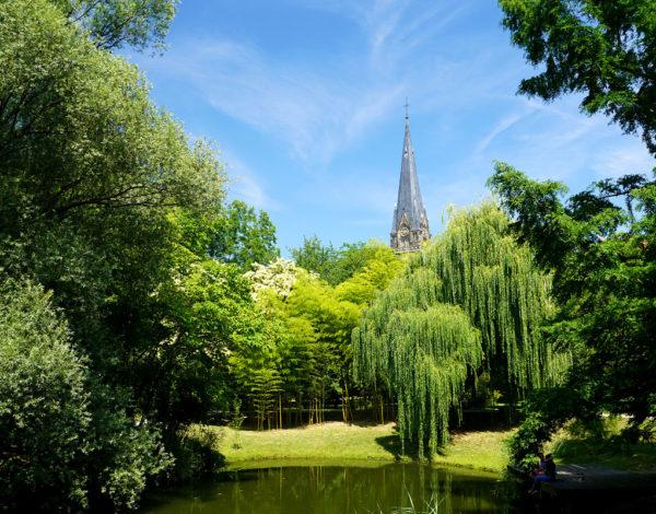 Le jardin botanique de Strasbourg