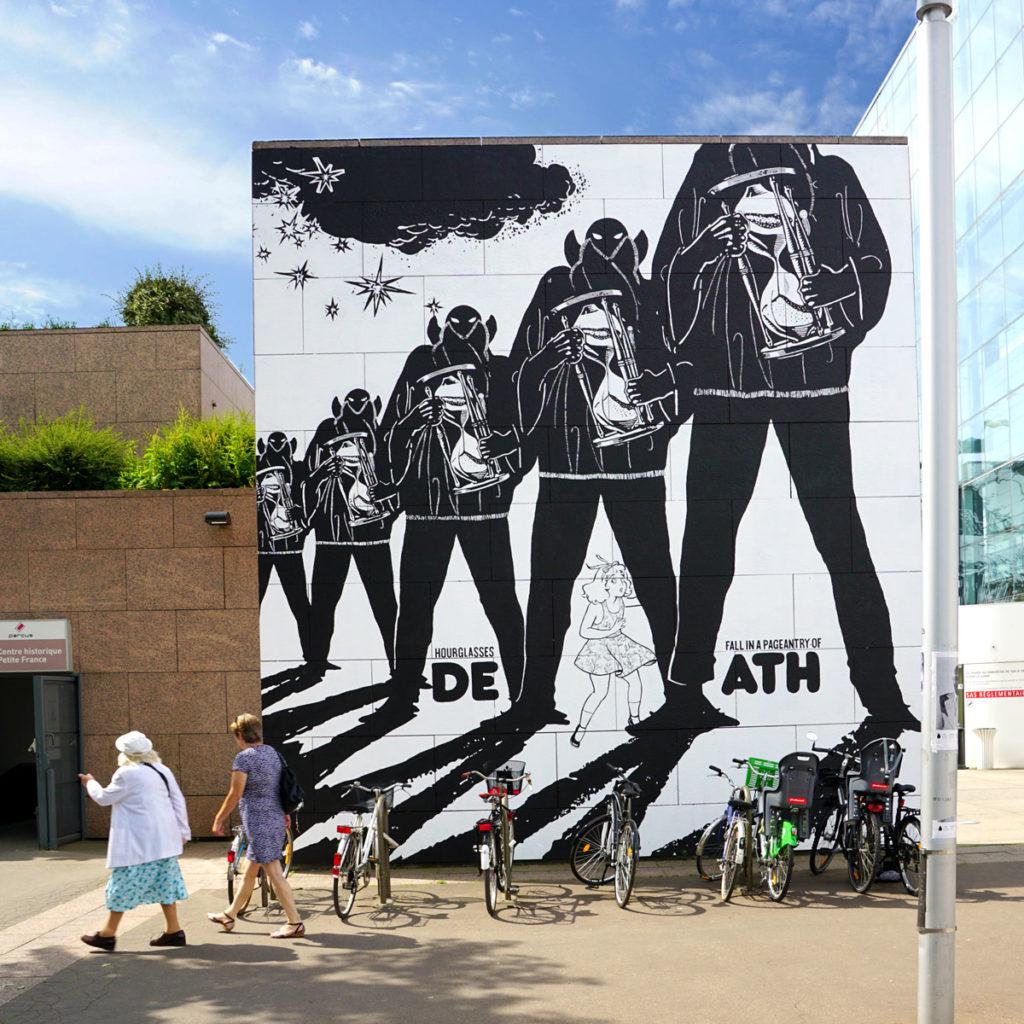Le Musée d'Art Moderne de Strasbourg (MAMCS) habillé par le collectif FAILE