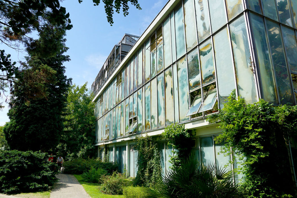 Serre tropicale du jardin botanique de Strasbourg