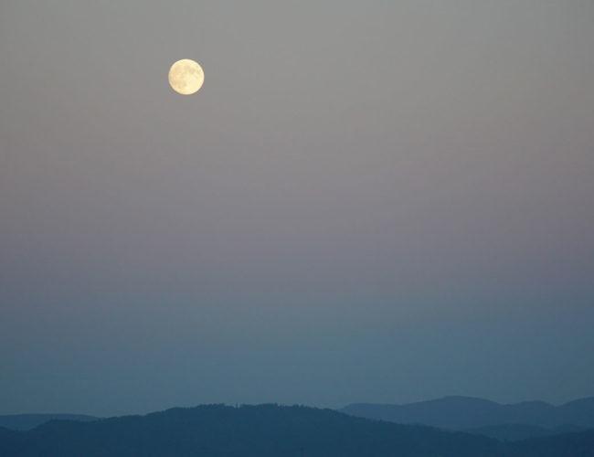Lune sur la Forêt Noire