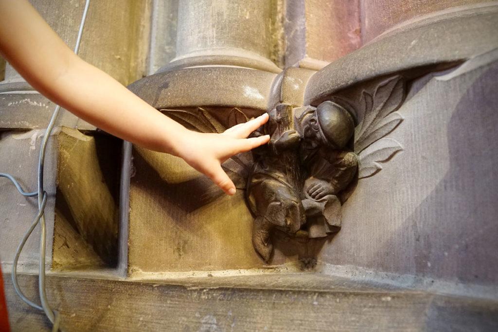 L'homme le plus fort de la Cathédrale de Strasbourg