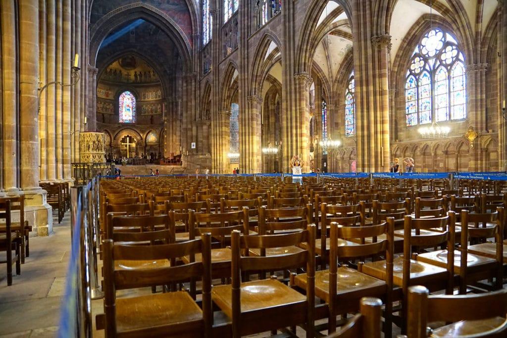 Intérieur de la Cathédrale de Strasbourg