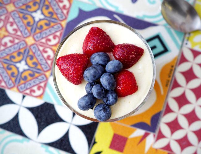 Tiramisu aux fraises sans gluten