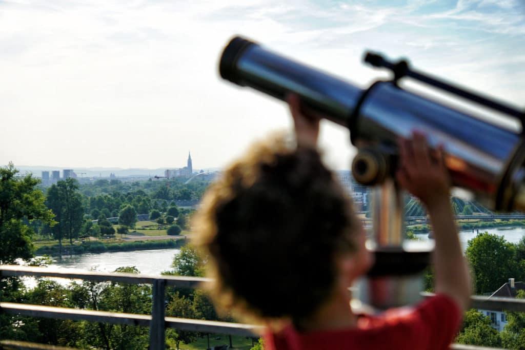 Observation depuis la Weisstannenturm