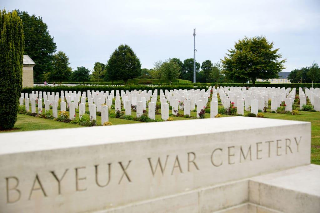 Cimetière militaire anglais de Bayeux