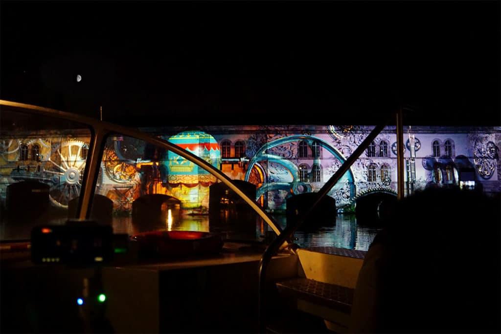 Spectacle son et lumière LUX avec Batorama