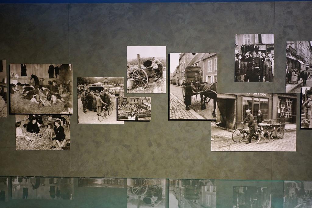 Photographies anciennes musée mémorial Bayeux