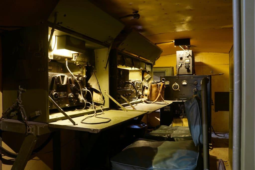 Camion radio au mémorial de Bayeux