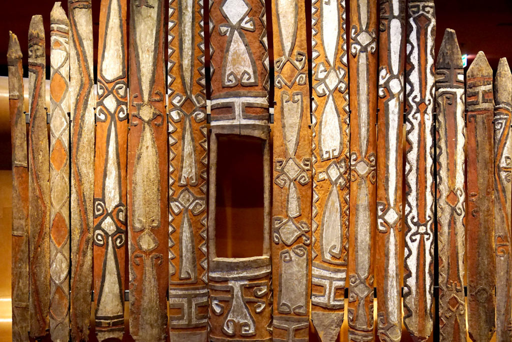 Façade de maison cérémonielle Tifalmin
