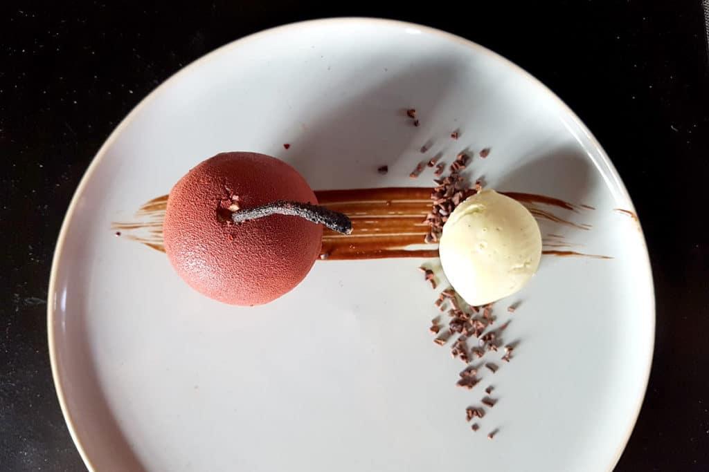 Restaurant Les Innocents - Bombe au chocolat