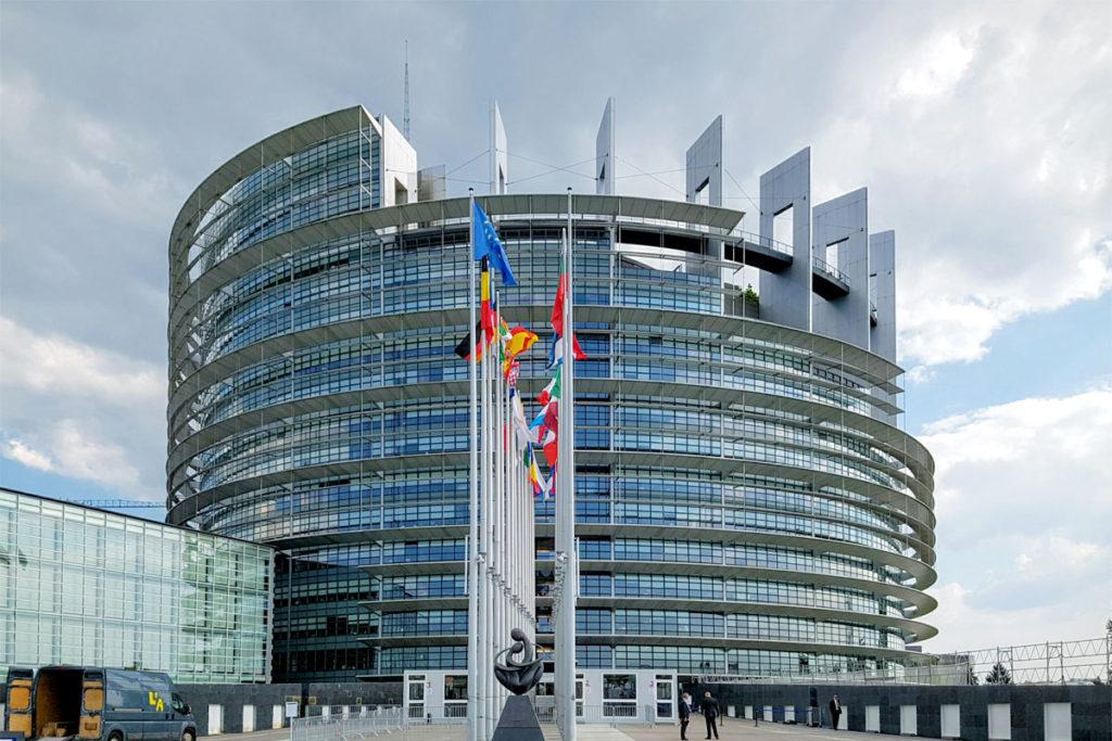Parlement Européen de Strasbourg
