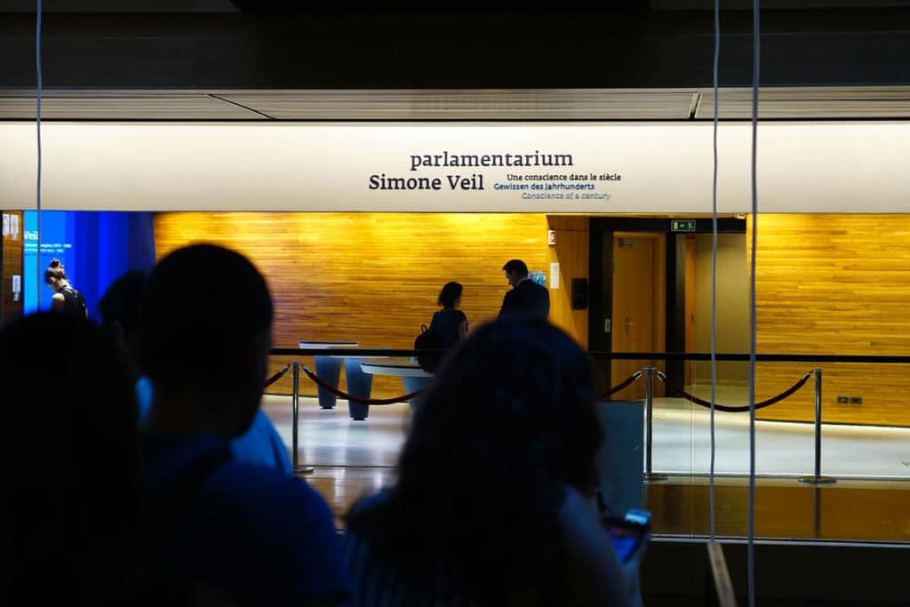 Visite du Parlementarium de Strasbourg