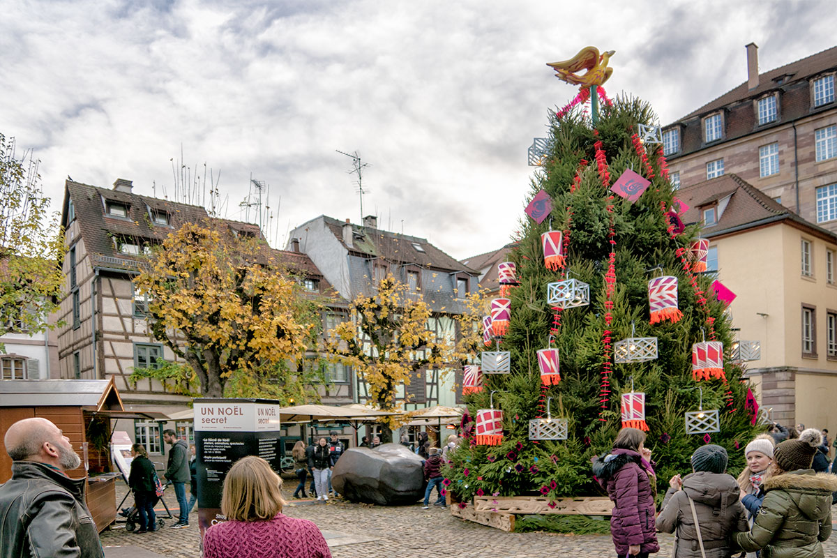 Sapin Place Marché Gayot