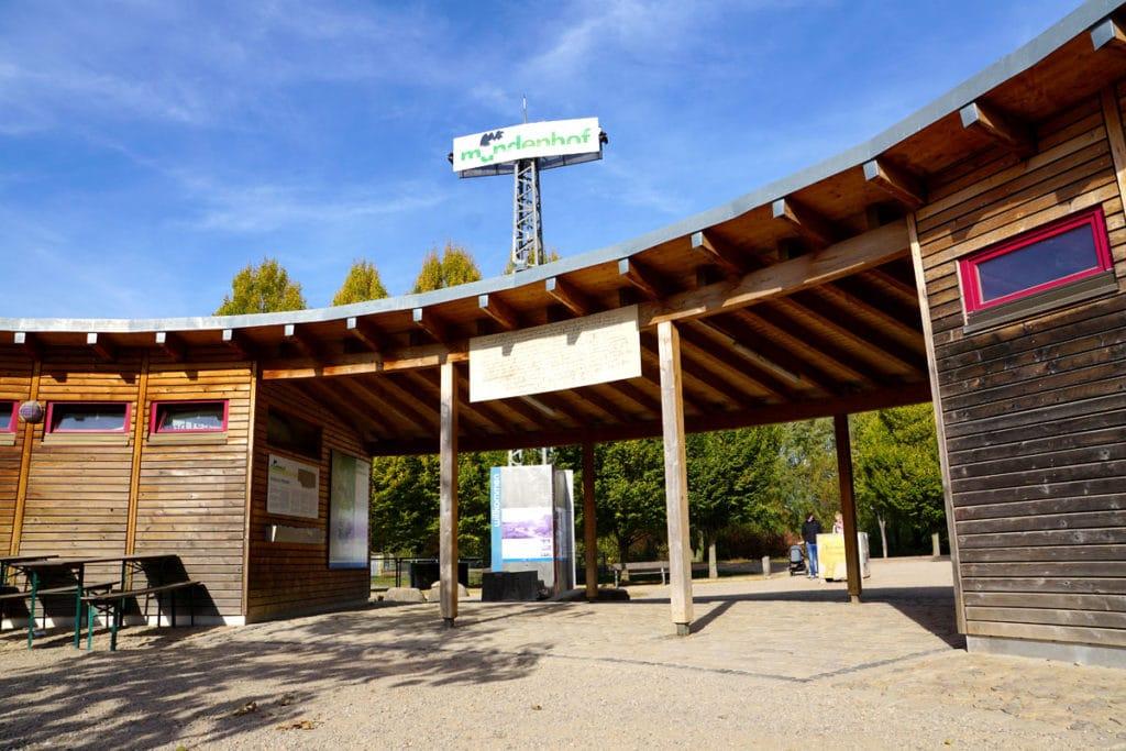 Entrée du parc animalier du Mundenhof
