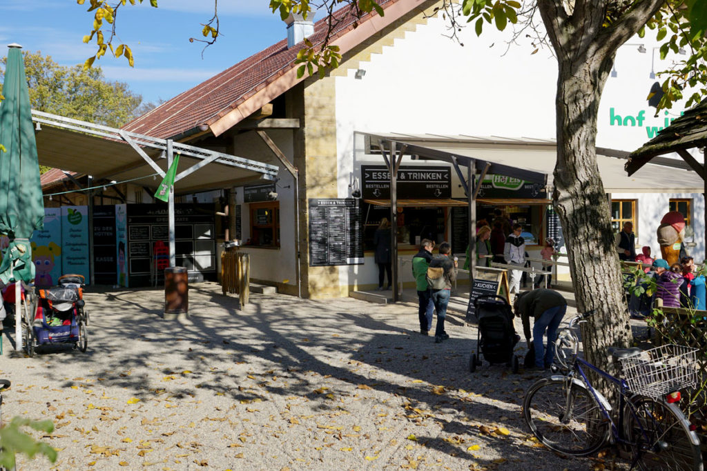 Biergarten du Mundenhof