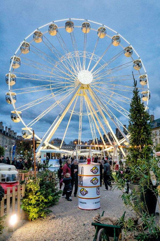 Grande roue place de la Carrière à Nancy