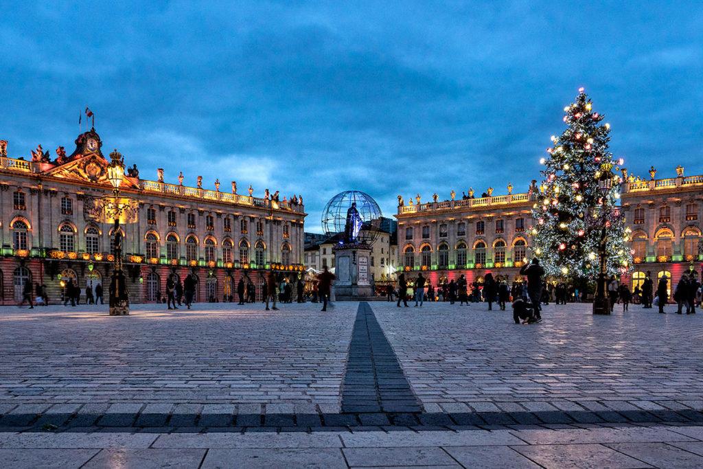 La Place Stanislas illuminée