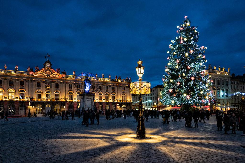 Le sapin de Noel de la Place Stanislas