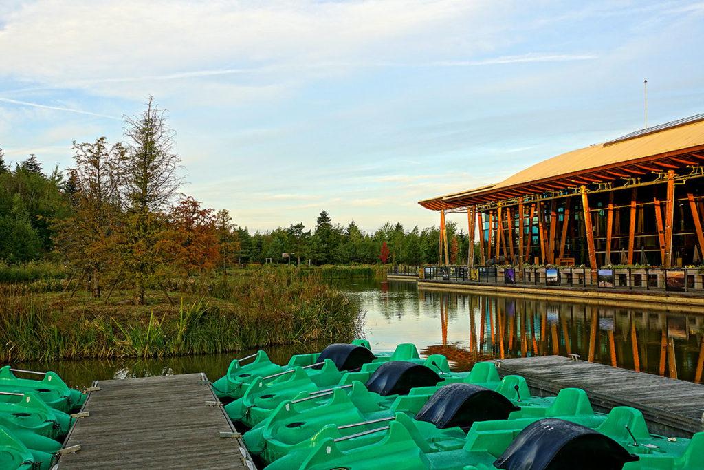 Aqua Mundo et Pedalos du Center Parcs des Trois Forêts