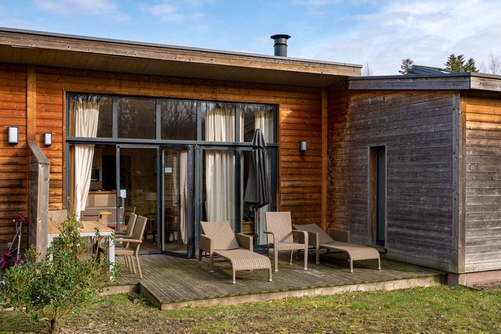 Extérieur Cottage VIP Center Parcs Trois Forêts