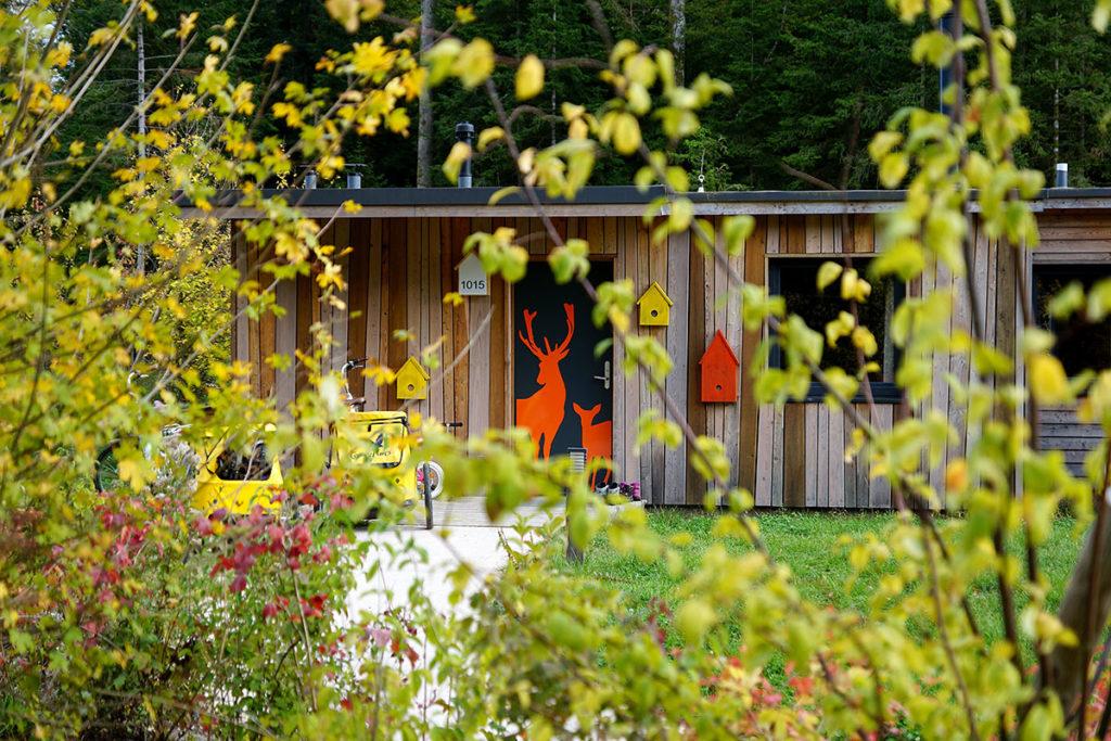 Cottage thématique au Center Parcs Trois Forêts